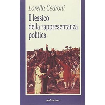 Il Lessico Della Rappresentanza Politica