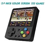 Huongoo Handheld Game Console, Portable Video Game 3 Inch HD Screen 333 Classic
