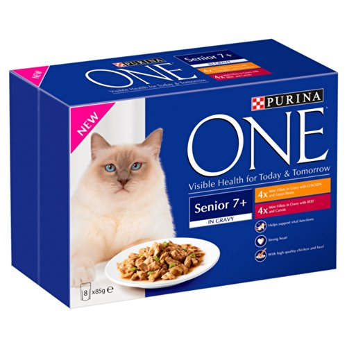 purina-one-senior-7-wet-cat-food-with-chicken-and-beef-in-gravy-8-x-85-g-pack-of-5