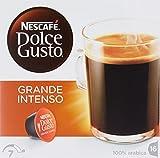 NESCAFÉ Dolce Gusto Grande Intenso | 16 Kaffeekapseln | Arabica Bohnen aus Ostafrika und Südamerika  | Haselnussbraune Crema | Aromaversiegelte Kapseln | 1er Pack (1 x 16 Kapseln)