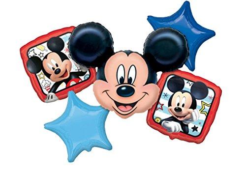 Amscan 3622601-Globo Juego Mickey y la flinken deportivos