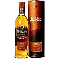 Glenfiddich Rich Oak 14 Jahre Single Malt Whisky mit Geschenkverpackung (1 x 0.7 l)