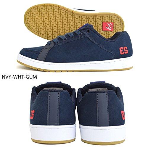 ES, Scarpe da Skateboard uomo blu Blue Navy/White/Gum