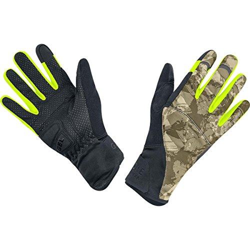 GORE WEAR Erwachsene Handschuhe Element urban Print Windstopper Gloves Camouflage/Black, 9 -