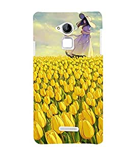 Beautiful Girl 3D Hard Polycarbonate Designer Back Case Cover for Coolpad Note 3