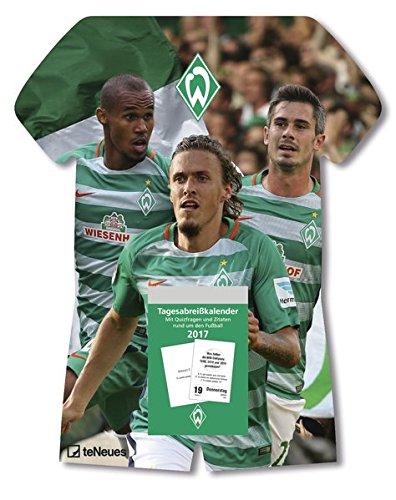 Werder Bremen Kalender 2018 - Tagesabreißkalender Fußball, Fankalender - 24 x 30 cm