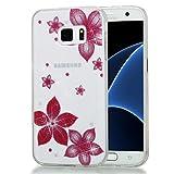 9f82400e727 Alfort Samsung S7 Funda Carcasa Samsung S7 Transparente Case Cover con  Polvo de Flash Carcasa Silicona
