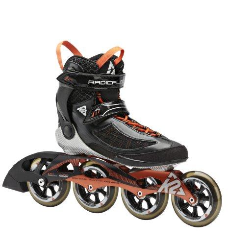 K2 Herren Inline Skate RADICAL 100 M  Schwarz/Orange/Silber