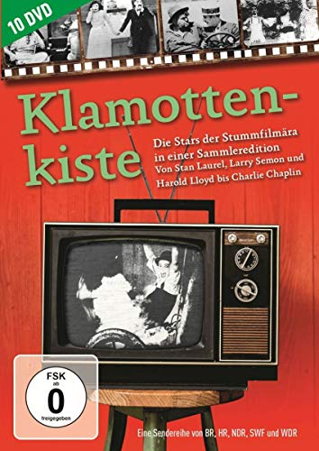 Klamottenkiste - Die Stars der Stummfilmära in einer Sammleredition [10 DVDs]