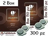 Lollo Caffè - Classico espresso - Cialde ESE - 300 pz (2x150 pz)