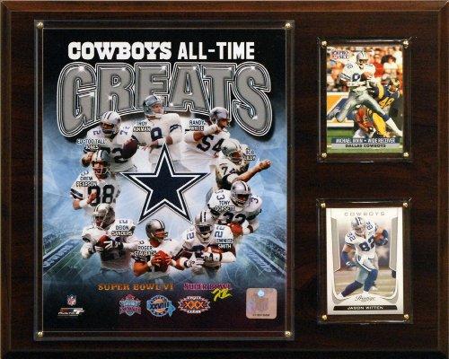 C & I Collectables NFL Dallas Cowboys Liste der Spieler-Größen Foto Plaque
