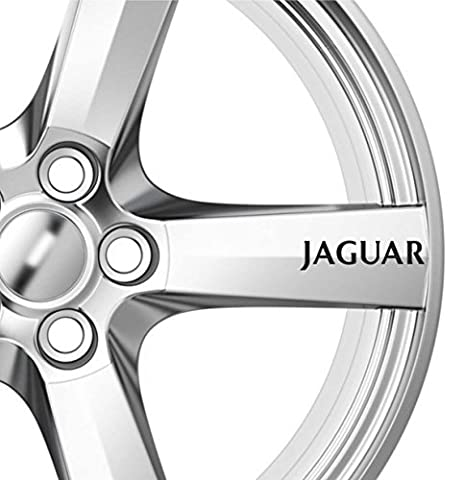 6 x Jaguar Alloy Wheels Decals Stickers Adhesives Premium Quality X Type XJS XJ6