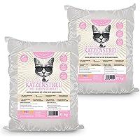 Rinderohr® White Katzenstreu mit Babypuderduft 30kg