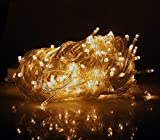 Home Garden Indoor Best Deals - 10M 100 LEDs Warm White Indoor Fairy Lights of Clear Cable by Noza Tec for Christmas Xmas Wedding Party Home Decoration Fairy Lights Wedding Party Home Garden Decorations