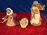 Krippenfiguren Hlg.Familie orientalisch bunt Größe ca.13cm