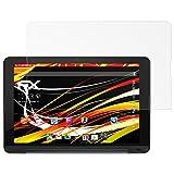 atFolix Schutzfolie kompatibel mit LG G Pad X II 10.1 UK750 Bildschirmschutzfolie, HD-Entspiegelung FX Folie (2X)