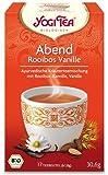 Yogi Tee Abend Tee Rooibos Vanille, 17 Teebeutel, 30,6 g