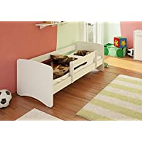 Best For Kids Kinderbett 90x160 MIT RAUSFALLSCHUTZ 44 Designs (Weiß) - preisvergleich