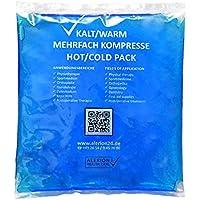 Preisvergleich für 10 Stück 13 cm x 14 cm Kalt-Warm Kompresse Mehrfach kompresse Wiederverwendbar Coolpack Mikrowellen geeignet verschiedene...