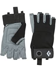 Black Diamond Handschuhe Crag Half Finger Gloves - Guantes para hombre, color negro, talla l