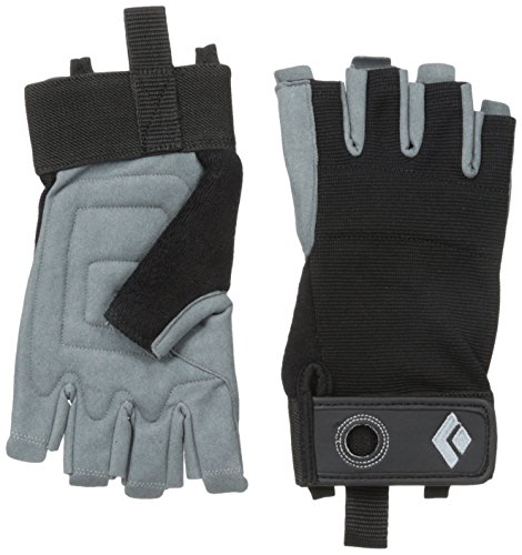 Black Diamond Erwachsene Handschuhe Crag Half Finger Gloves, Black, M