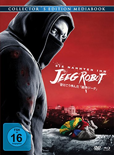 Sie nannten ihn Jeeg Robot - Mediabook [Blu-ray] [Collector's Edition]