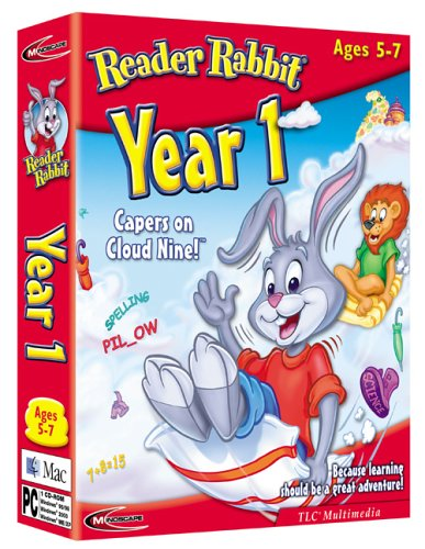 Reader Rabbit Year 1 Capers on Cloud 9 Test