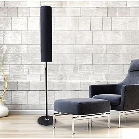 Lámpara de pie moderna planta salón sencilla dormitorio de la lámpara lámpara de pie creativa lectura Europea lámparas