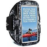 "Armpocket Ultra i-35brazalete deportivo para iPhone 6S/6, Galaxy S7/6, S7/6Edge con Slim Cases o otros teléfonos de hasta 6.0"""