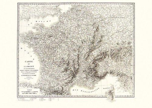 Poster Z France 1804. Carte n° 70026 (Cassini)