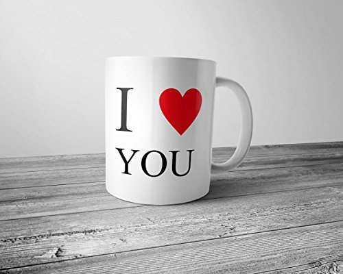 Tasse I LOVE - Ein Liebesbeweis für jeden Tag, Tassenmotiv:I LOVE YOU