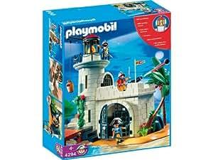 Playmobil - 4294 - Soldats Et Phare Fortifié