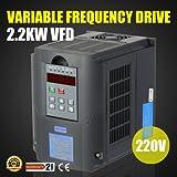 Autovictoria VFD Inversor 220V VFD Drive 2.2KW 3HP Frecuencia Variador de Frecuencia VFD Profesional...
