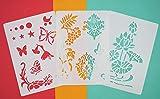 AsianHobbyCrafts Craft Stencils for Sket...