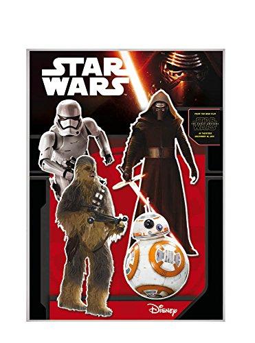 Star Wars - Pack de 2 siluetas, 30 cm (Verbetena 014000856)