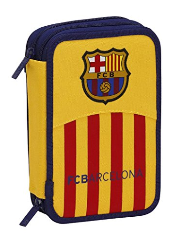 Barcelona F.C.- Plumier Doble pqo 34 Piezas (SAFTA 411562054)