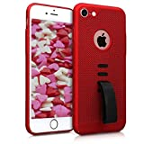 kwmobile Apple iPhone 7/8 Hülle - mit integriertem Fingerhalter - Handy Cover Case für Apple iPhone 7/8