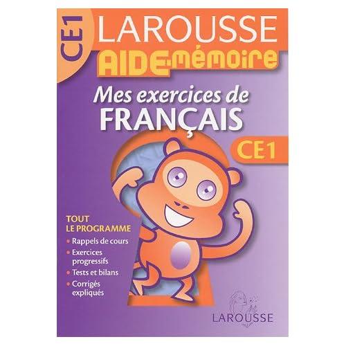 Mes exercices de français CE1