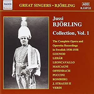 Jussi Björling - Collection, Vol 1