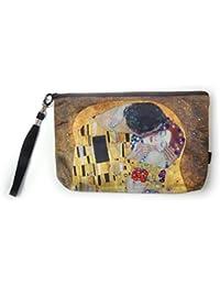 Schultertasche Umhängetasche Shopper Damen Kunst groß Gustav Klimt Der Kuss