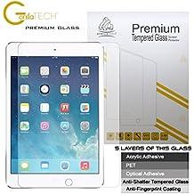 Apple iPad Pro 9.7 iPad Air 2 e iPad Air genuino Gorilla ® Tech Proteggi schermo pellicola Premium in vetro temperato Invisible Shield HD, durezza 9H, autentico trasparente HD qualità, resistente ai graffi, infrangibile resistente robusto delinquente 9H grande efficace vigoroso per Apple iPad Pro 9.7 inch 9 generazione iPad Air 2 6 generazione iPad Air 5 generazione