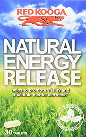 Red Kooga Natural Energy Release - Pack of 30 Tablets