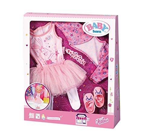 Zapf Creation 825013 Baby Born Boutique Deluxe Ballerina Set Puppe