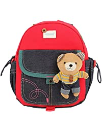 Preisvergleich für Blansdi Kinderrucksack Rucksack Kinder Schule Tasche Schultasche mit Kopfhörerkabelkanal Kleinkind Kindergarten...