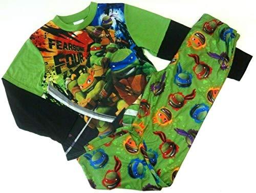 zug Ninja Turtles 140/146 Nachtwäsche Junge Sommer 2 teilig USA Size 10/12 Schildkröte Teenage Mutant ()
