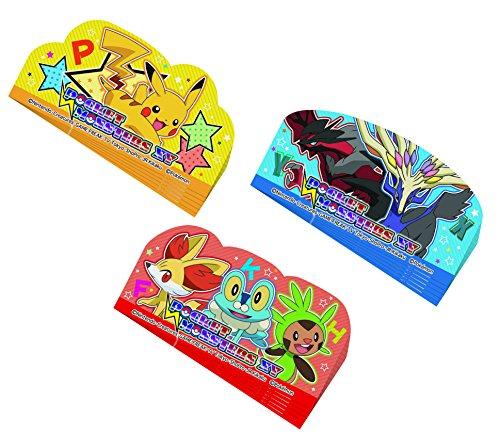 Pokemon Skater Lunch partition Cut The balun 18 Pieces XY Pokemon LKBL3