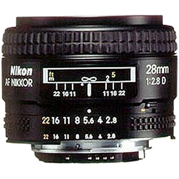 Nikon Af Nikkor 28 Mm 2 8 D Objektiv Kamera