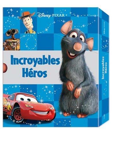 Incroyables héros : Coffret en 5 volumes : Le monde de Nemo ; Cars ; Ratatouille ; Toy Story ; Wall-e