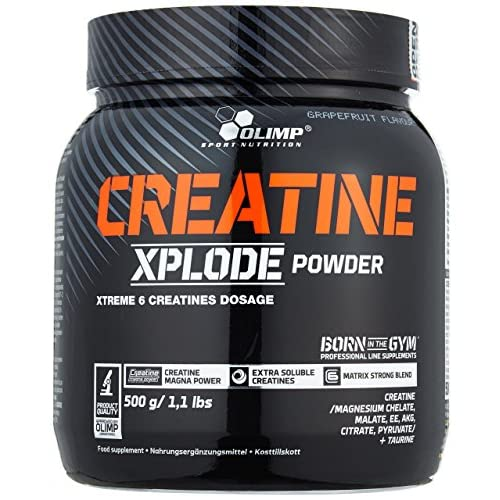 5178EAuFMBL. SS500  - Olimp Labs Creatine Xplode Powder, Grapefruit Flavour, 500 g