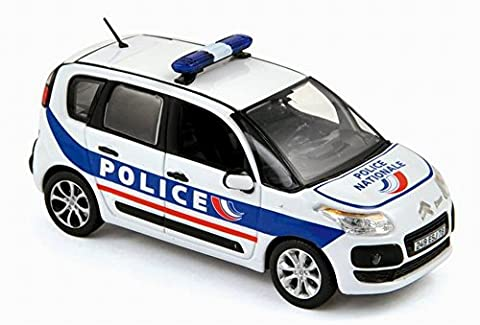 Miniature CITROËN C3 Picasso 2011 Police Nationale NOREV 1/43